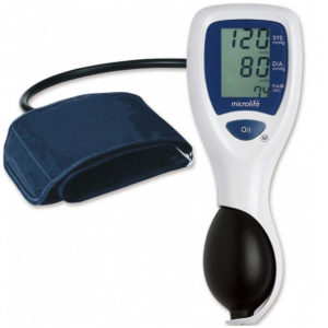 Microlife Semi-Automatic/Manual Blood Pressure Monitor