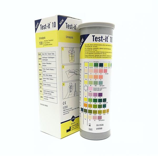 Test-it 10 (100's)