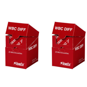 HemoCue®WBC DIFF System Microcuvettes 50's
